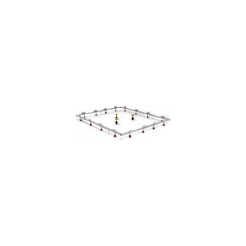 Mepa-Pauli und Menden Mepa Montagerahmen SF Rechteck 150/180 für extraflache Stahl- und Acrylwannen 150181