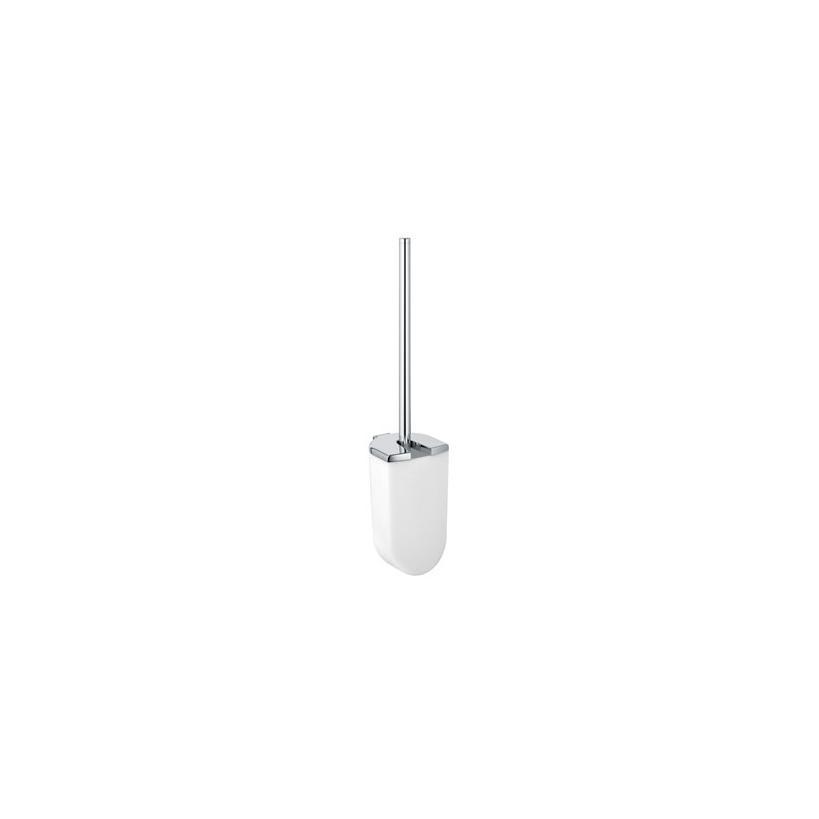 Passion Keuco Elegance WC-Bürstengarn. 11664 mit Opak-Kunststoff-Einsatz, verchromt 11664010100