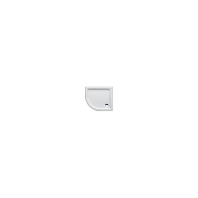 Polypex-Brausewanne Lagune 90x80x6cm rechts weiss 38121