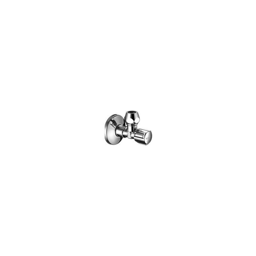 Schell-Eckventil Fig.04915 1/2' m.Verlaengerung u.Rosette 049150699