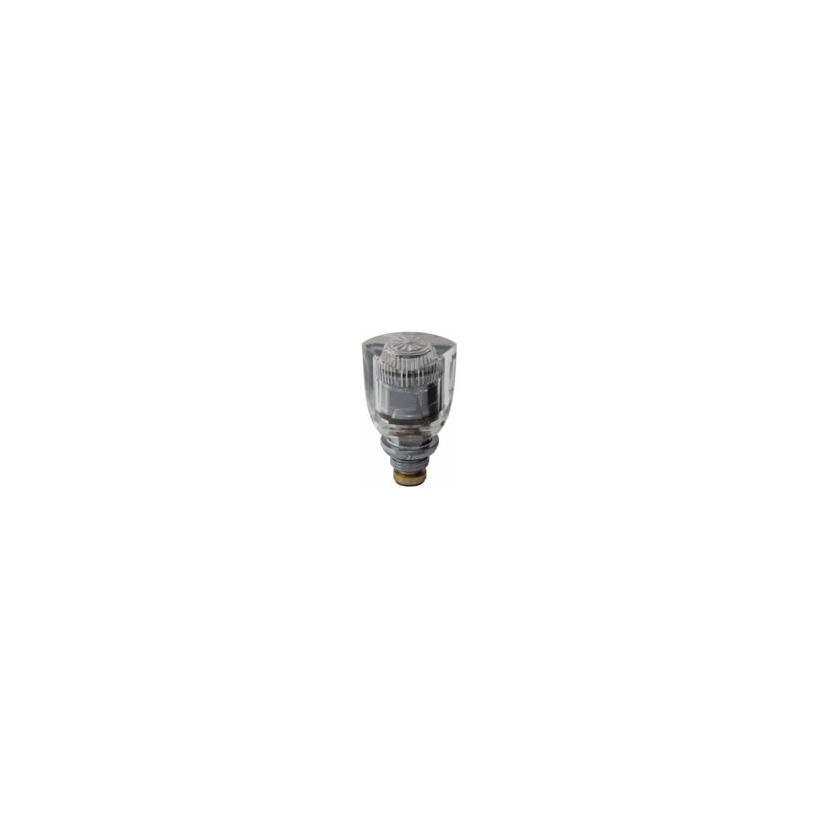 SCHMIEDL Oberteil GS 102 Atmos-Transp. 1/2' glasklar rot GS0102/15W