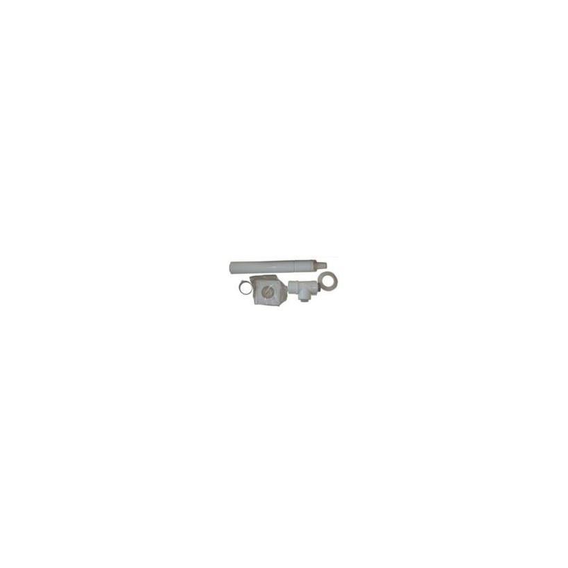 Vaillant waagrechte Dach- und Wand- Durchführung für Brennwert Geräte 0020219516