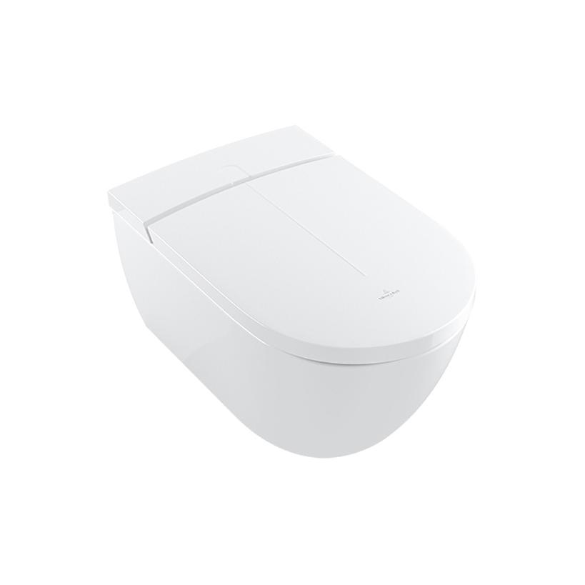 Villeroy & Boch ViClean-I 100 Combipack wandhängend, weiß ceramicplus V0E100R1