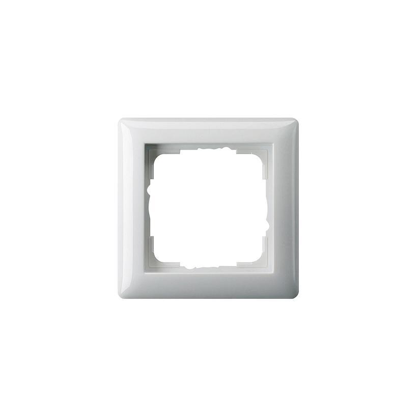 Rahmen 1fach Standard 55 reinweiß glänzend 021103