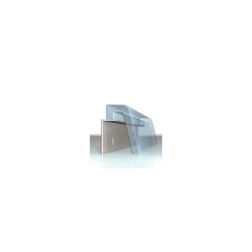 Alva aqua Alva Prisma Era Montagewinkel universal L= 1 x 88cm, 2 x 67cm 11121