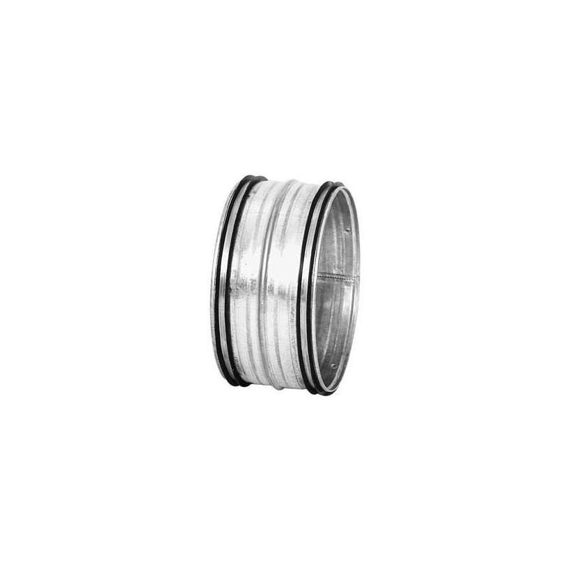 Pichler J. ALVA ALEA Rohrverbinder  verz.Blech DN100 (Nippel) mit Lippendichtungen 11NPU0100