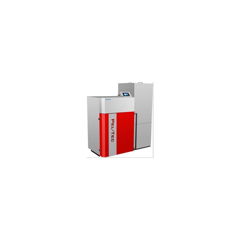 Zentro ALVA ALEA Pelletskessel 24kW mit Vorratsbehälter 340 Liter 13002