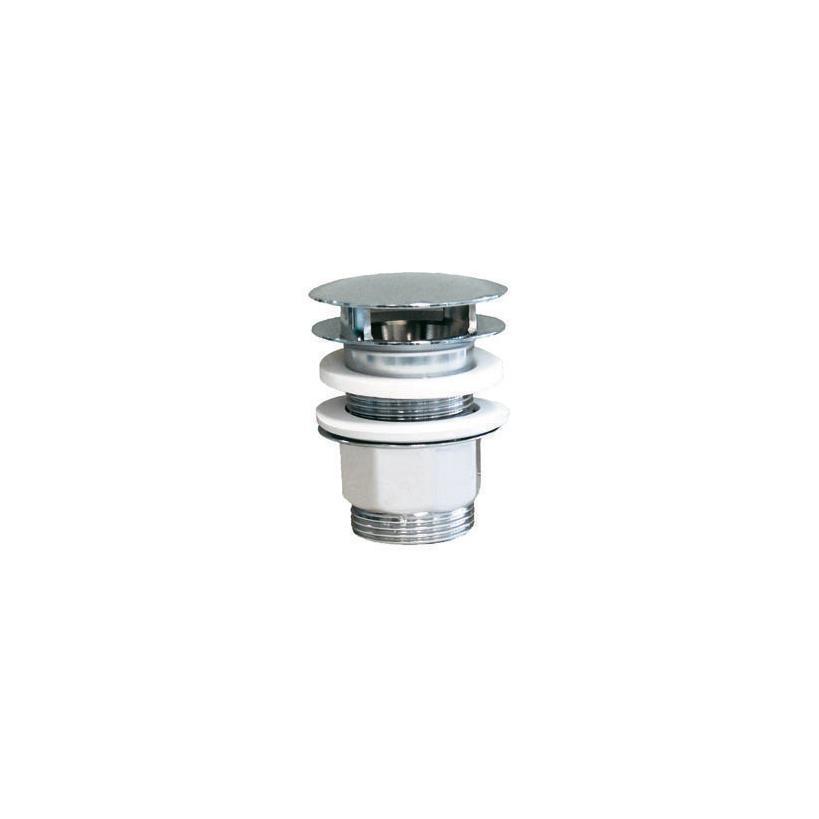 "Alva aqua Alva Prisma Varia Schaft-Ablaufven. 5/4"" mit Stopfen, Höhe bis 55mm, Chrom 147.5555 FR"