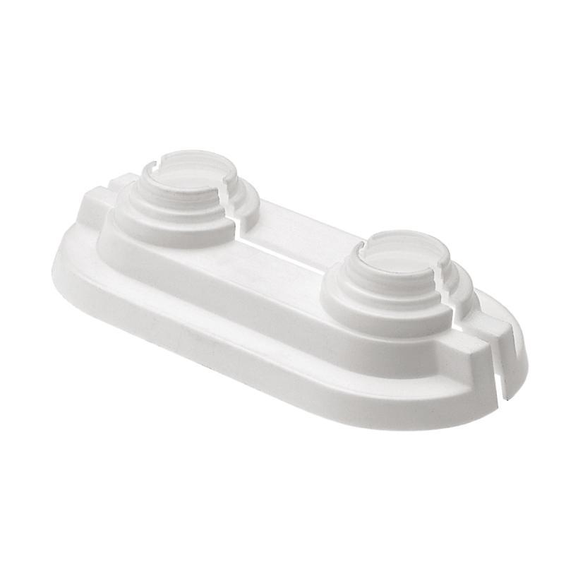 Hummel AG ALVA ALEA Abdeckrosette weiß 12/15/18/20mm, Kunststoff 2612500011