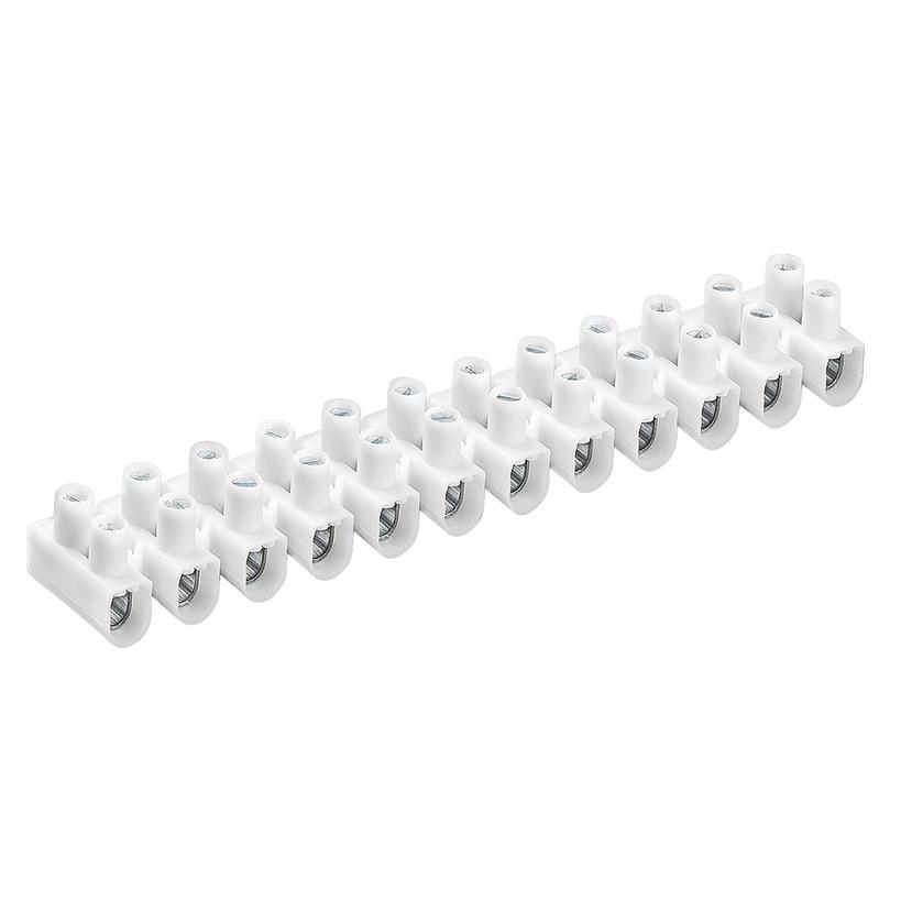 Reihenlusterklemme 2,5 - 10 mm², 12-poli weiß 3700168
