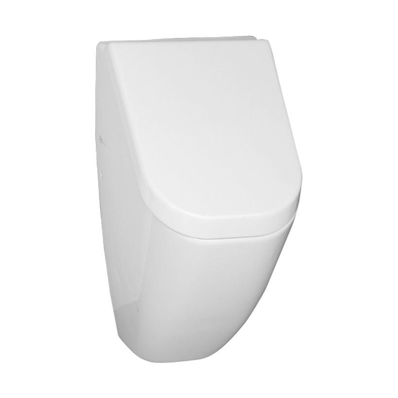 Alva aqua Alva Aqua Aura Urinal mit Deckel Zulauf und Abgang hinten, Weiß 5218B003D6030
