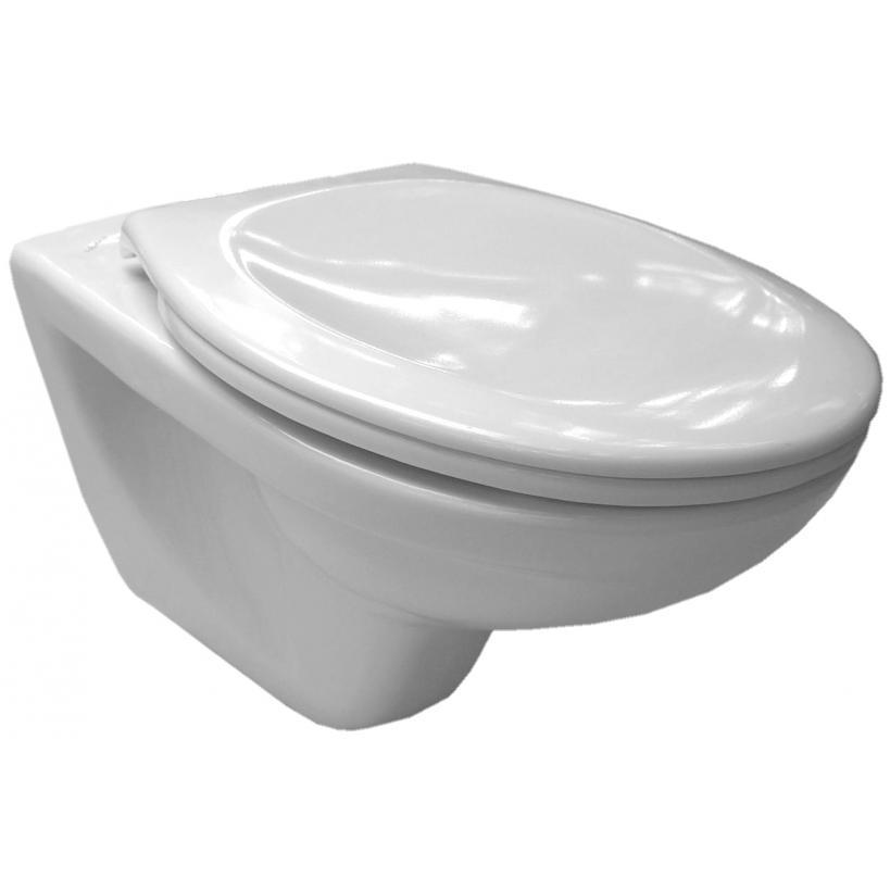 Alva aqua Alva Aqua Una Wand-WC Tiefspüler Weiß 8.2139.0.000.000.5