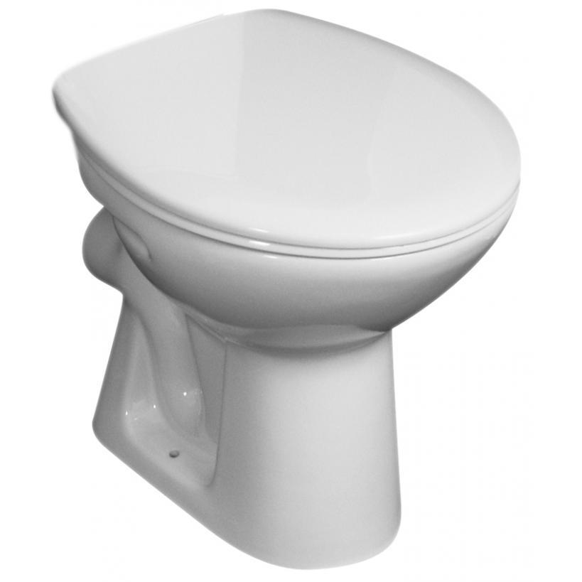 Alva aqua Alva Aqua Una Stand-WC Tiefspüler Abgang waagrecht, Weiß 8.2239.6.000.000.1