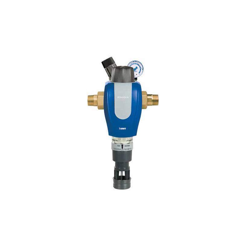 Bonaqua RF-Rückspülfilter HW 1' m.Druckminderer 840346