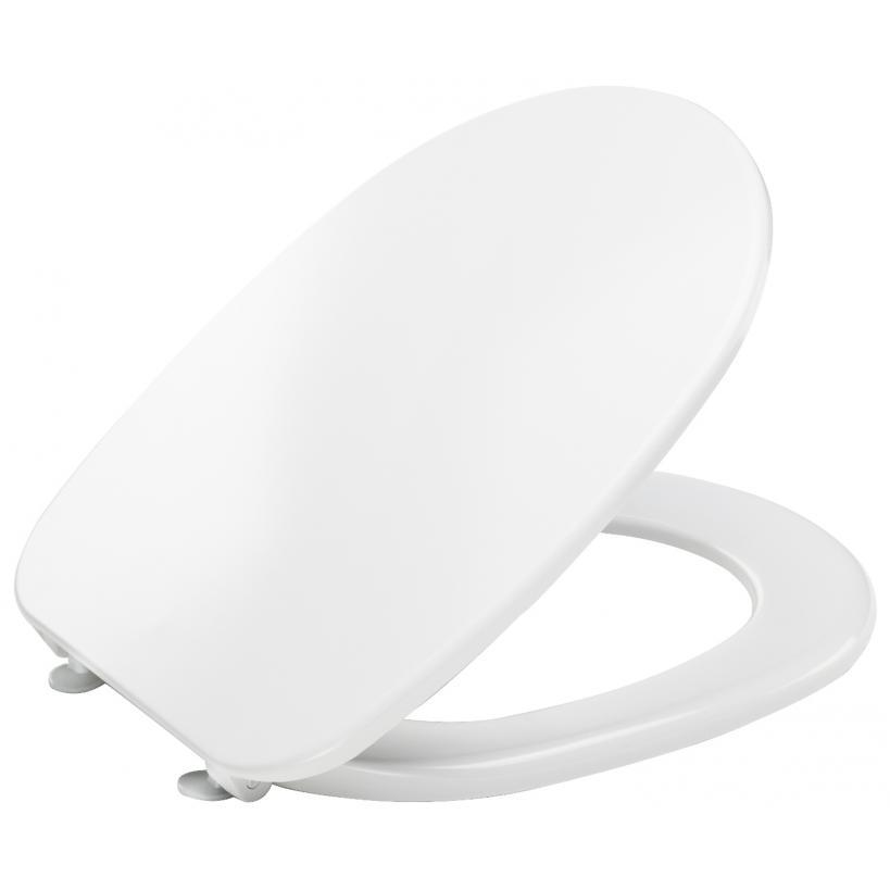 Alva aqua Alva Aqua Varia WC-Sitz Kunststoffscharnier, Weiß C101-0101