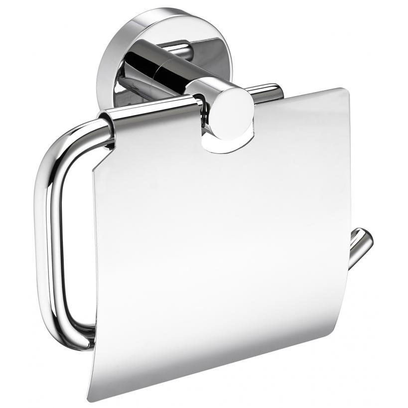 Alva aqua Alva Aqua Una Toilettenpapierhalter mit Bügel und Deckel, Chrom FR43380-00010