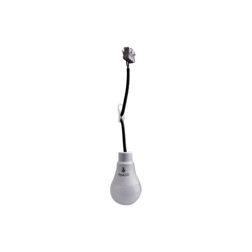 Baustellenbirne LED mit Anschlusskabel 9W 2700K, 810lm WWTD-APALED-27