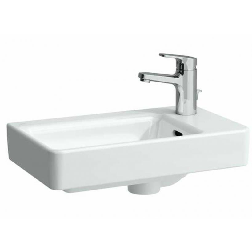 Laufen Pro S Handwaschbecken asymmetrisch, 48x28cm, HL rechts, weiß 8159540001041