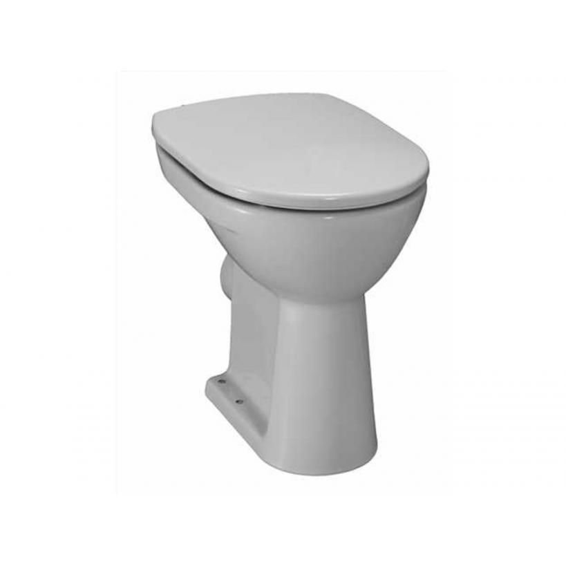 Laufen Stand-WC PRO Flachspueler 6 Liter 2595.6 weiss Abgang waagrecht 8259560000001