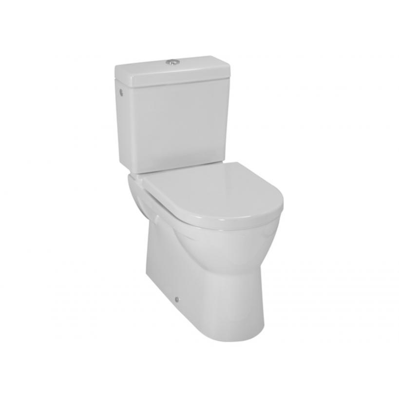 Laufen Stand-WC Komb.Flachsp.m.Vent.Abg. senkr.od.waagr.o.SPK u.WC-Sitz LCC-weiss 8249594000001