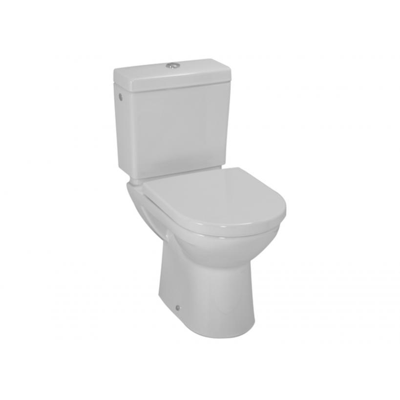 Laufen Stand-WC-Komb.Tiefsp.PRO Abg.senkr.ohneSpülkasten u.WC-Sitz weiss 8249570000001