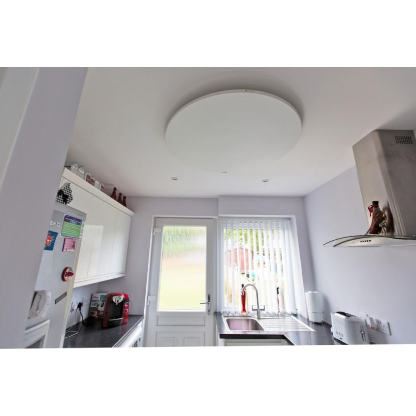 Redwell Round Large, 610W, Weiß DM900x18mm, Wand- u. Deckenmontage RLARRWHI0EU