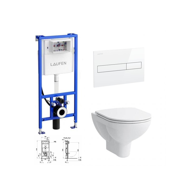Laufen WC Set  All inclusive 01