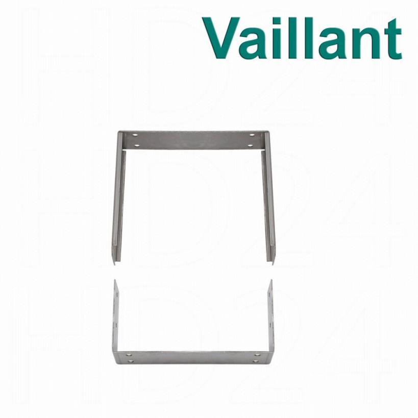 Vaillant Verlängerung für Wandhalterung bis 300mm, Edelstahl 0020042752