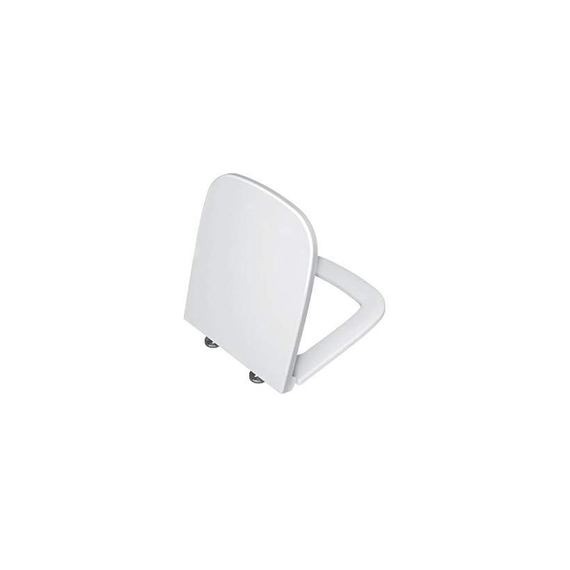Amoa WC-Sitz mit Absenk. automatik, Scharnier Edelstahl, Weiß 77-003R409