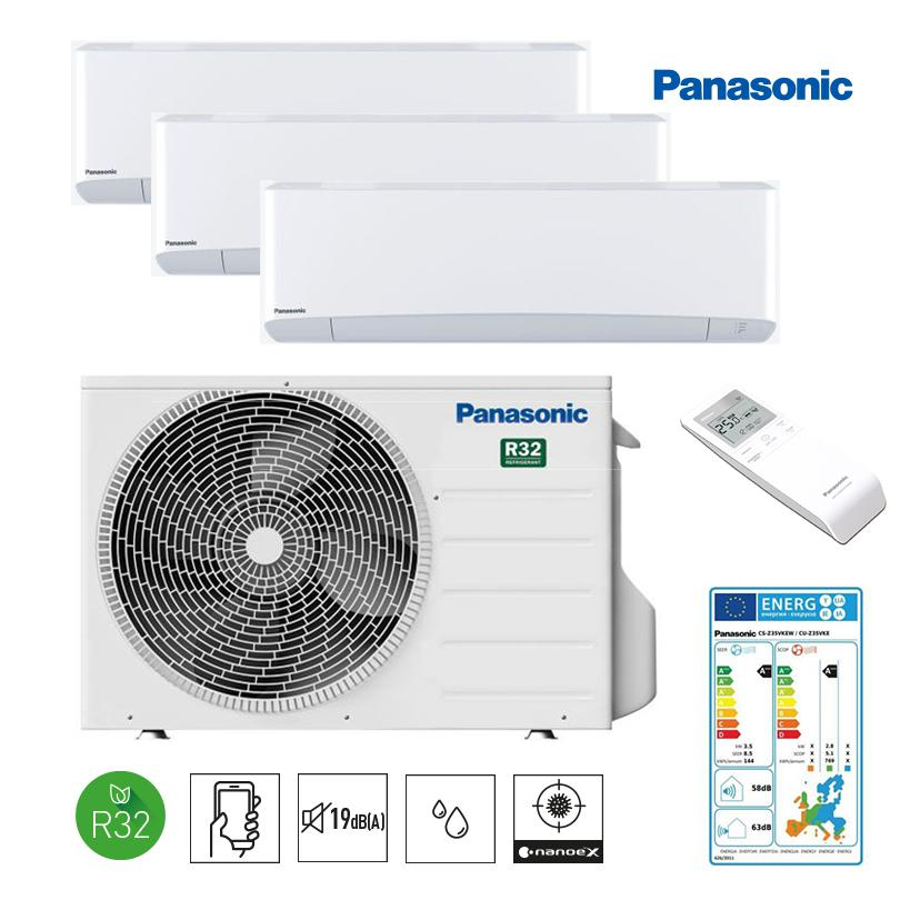 PANASONIC ETHEREA R32 TRIO-SPLIT WIFI  35 m2 ETHEREA-R32-Z353535 (68)